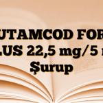 BUTAMCOD FORT PLUS 22,5 mg/5 ml Şurup
