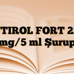 BUTIROL FORT 22,5 mg/5 ml Şurup