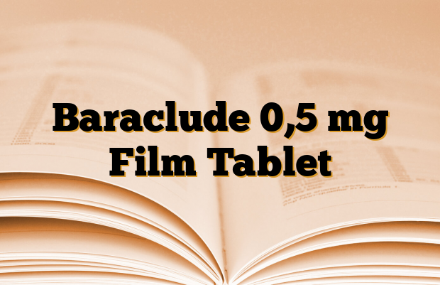 Baraclude 0,5 mg Film Tablet