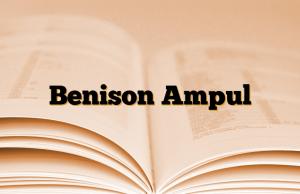 Benison Ampul
