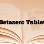 Betaserc Tablet