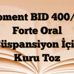 Bioment BID 400/57 Forte Oral Süspansiyon İçin Kuru Toz