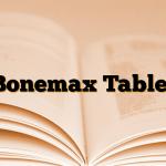 Bonemax Tablet