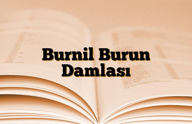 Burnil Burun Damlası