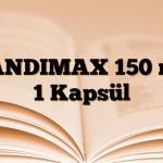 CANDIMAX 150 mg 1 Kapsül