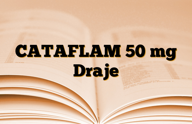 CATAFLAM 50 mg Draje