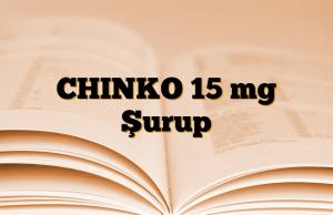 CHINKO 15 mg Şurup