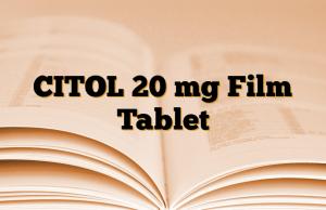 CITOL 20 mg Film Tablet