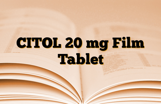 CITOL 20 mg Film Tablet