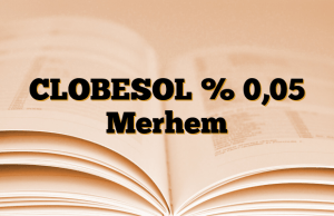 CLOBESOL % 0,05 Merhem