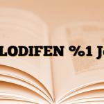 CLODIFEN %1 Jel