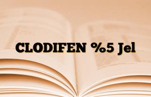 CLODIFEN %5 Jel