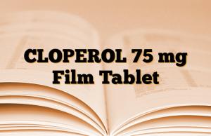 CLOPEROL 75 mg Film Tablet
