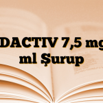 CODACTIV 7,5 mg/5 ml Şurup