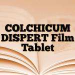 COLCHICUM DISPERT Film Tablet