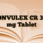 CONVULEX CR 300 mg Tablet