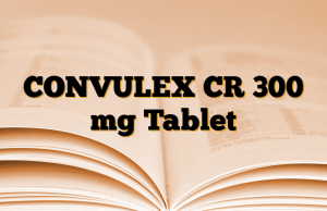 CONVULEX CR 300 mg Tablet