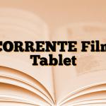 CORRENTE Film Tablet