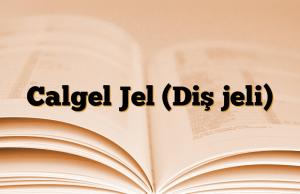 Calgel Jel (Diş jeli)