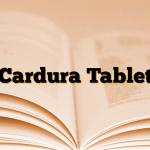 Cardura Tablet