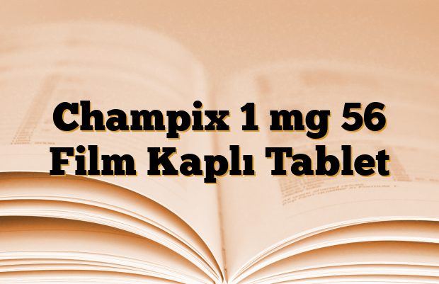 Champix 1 mg 56 Film Kaplı Tablet