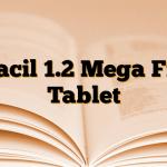 Cliacil 1.2 Mega Film Tablet