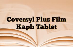 Coversyl Plus Film Kaplı Tablet