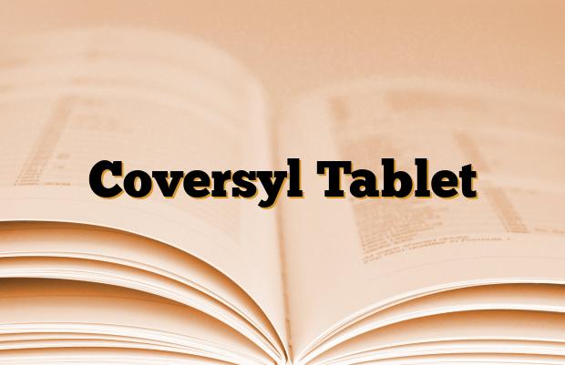 Coversyl Tablet