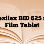 Croxilex BID 625 mg Film Tablet
