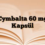 Cymbalta 60 mg Kapsül