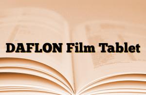 DAFLON Film Tablet