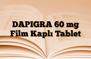 DAPIGRA 60 mg Film Kaplı Tablet