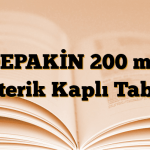 DEPAKİN 200 mg Enterik Kaplı Tablet