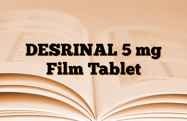 DESRINAL 5 mg Film Tablet