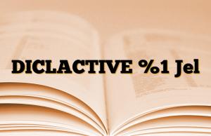 DICLACTIVE %1 Jel