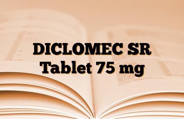 DICLOMEC SR Tablet 75 mg