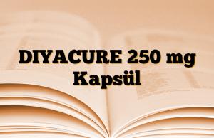 DIYACURE 250 mg Kapsül