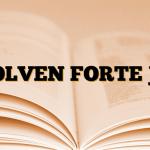DOLVEN FORTE Jel