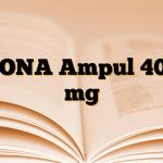 DONA Ampul 400 mg