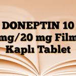 DONEPTIN 10 mg/20 mg Film Kaplı Tablet