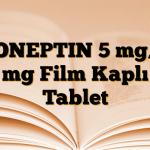 DONEPTIN 5 mg/5 mg Film Kaplı Tablet