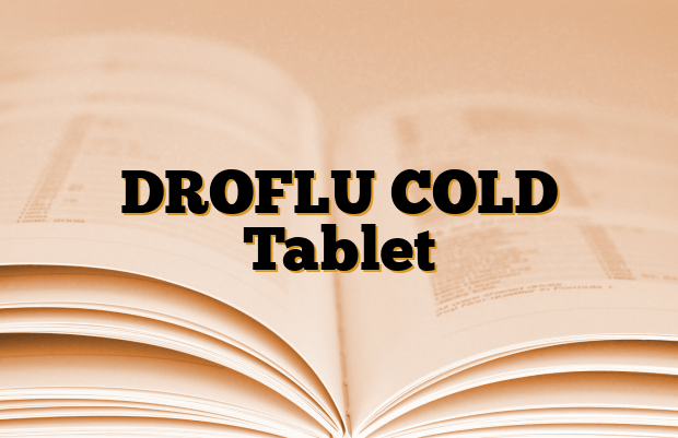 DROFLU COLD Tablet