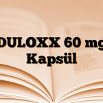 DULOXX 60 mg Kapsül