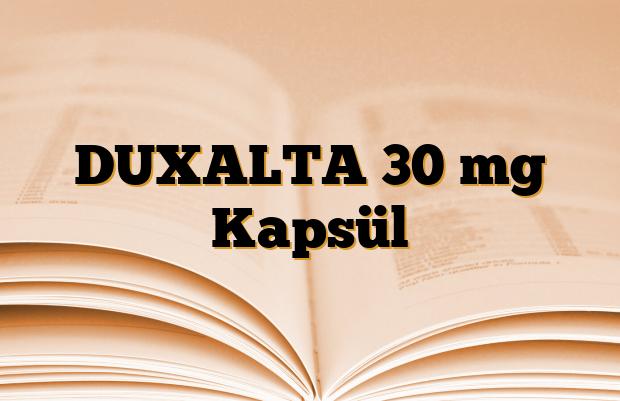 DUXALTA 30 mg Kapsül