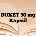 DUXET 30 mg Kapsül