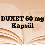 DUXET 60 mg Kapsül