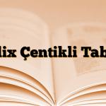 Delix Çentikli Tablet