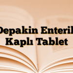 Depakin Enterik Kaplı Tablet