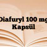 Diafuryl 100 mg Kapsül
