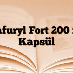 Diafuryl Fort 200 mg Kapsül